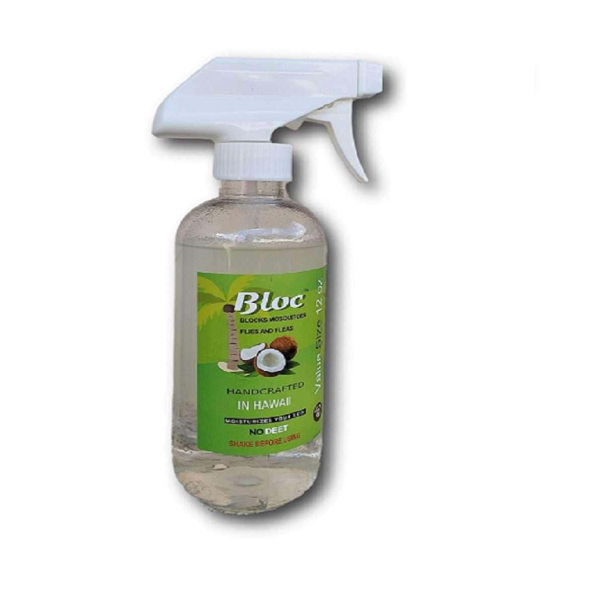 bloc natural mosquito repellent 12 oz value size
